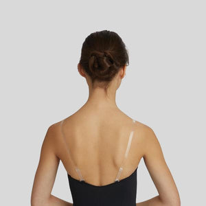 CAPEZIO REPLACEMENT CLEAR SHOULDER STRAPS #STRP1