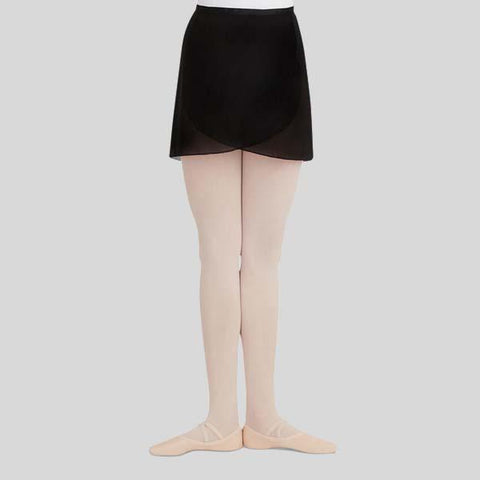 CAPEZIO GEORGETTE WRAP SKIRT- ADULT #N272