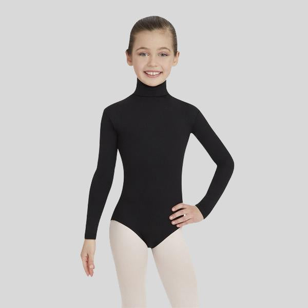 CAPEZIO TURTLENECK LEOTARD- CHILD #TB123C
