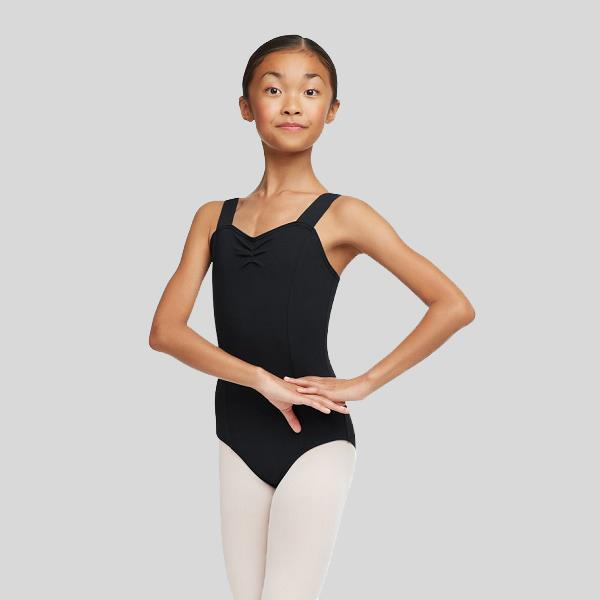 CAPEZIO WIDE STRAP LEOTARD- CHILD #TC0053C