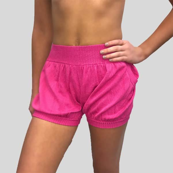 SUGAR AND BRUNO BUBBLE SHORTS, PASSION PUNCH - ADULT D7185