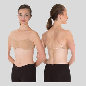 BODY WRAPPERS UNDERWRAPS PADDED BANDEAU BRA - ADULT #292