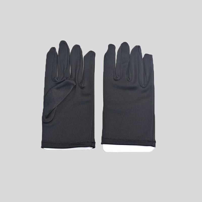 FH2 SHORT SATIN GLOVES, CHILD - #GL0013