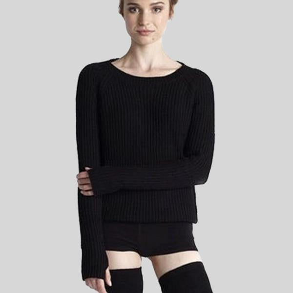 "YALIVTA ""AMO"" OPEN BACK SWEATER, ADULT - #YAL126"