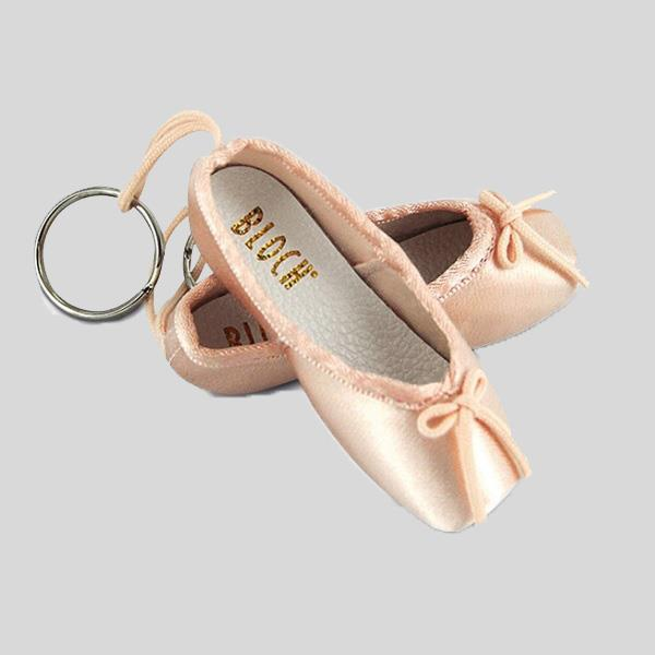 BLOCH POINTE SHOE KEY CHAIN - #A0604M