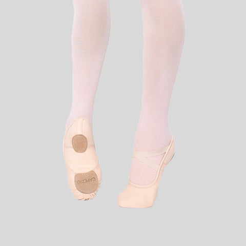 CAPEZIO HANAMI PINK BALLET SLIPPER - CHILD #2037C