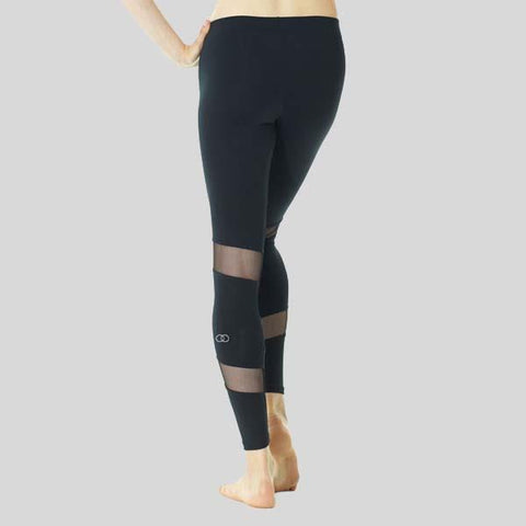 MONDOR ATHLETICA MESH INSERTS LEGGINGS - ADULT #3604