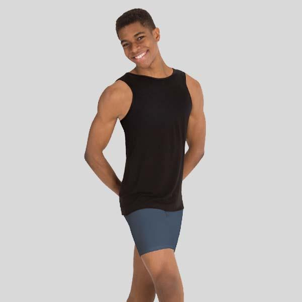 BODY WRAPPERS HI-NECK TANK PULLOVER - MENS #M407