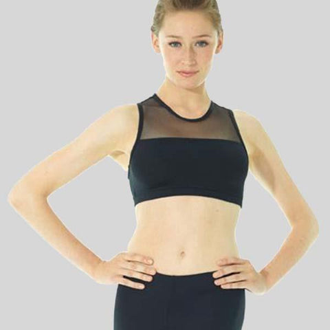 MONDOR ATHLETICA RACER-BACK CROP TOP - ADULT #3603