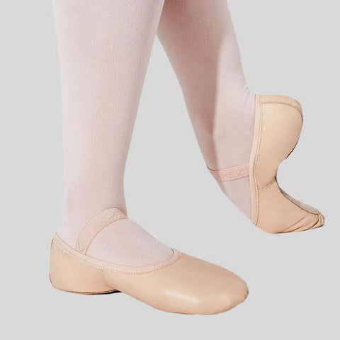CAPEZIO LILY BALLET SLIPPERS - CHILD #212TC