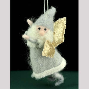 STARLIGHT TRADING WOOL FLYING GNOME W/WINGS - #DD8242