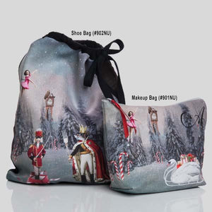 AINSLIEWEAR NUTCRACKER PRINT SHOE BAG - #902NU