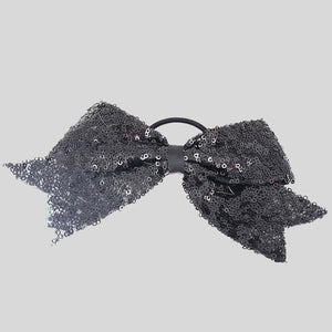 FH2 SPARKLE BOW HAIR TIE - #PT0083