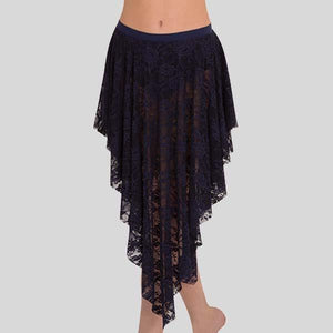 BODY WRAPPERS LACE DRAPEY SKIRT - CHILD #LC1113