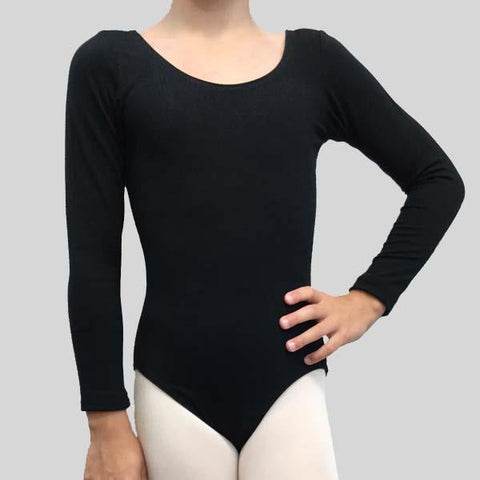 BE A STAR LONG SLEEVE LEOTARD - CHILD #800C