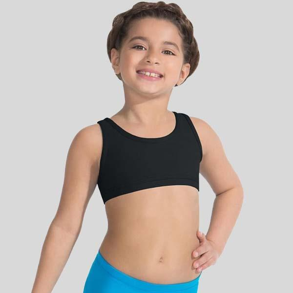 CAPEZIO RACERBACK BRA TOP - CHILD #TB239C