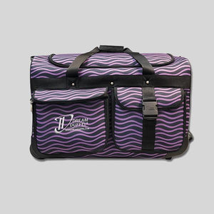 DREAM DUFFEL LIMITED EDITION MEDIUM PURPLE WAVES - #1610-WAVES