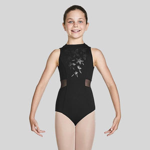BLOCH ADRIKA HIGH NECKLINE ZIP BACK TANK LEOTARD - CHILD #CL4930
