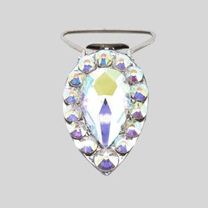 ANTONIO PACELLI AB CRYSTAL PEAR COMPETITION NUMBER CLIP