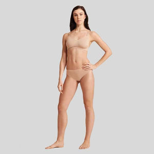 CAPEZIO SEAMLESS LOW RISE THONG- ADULT #3678