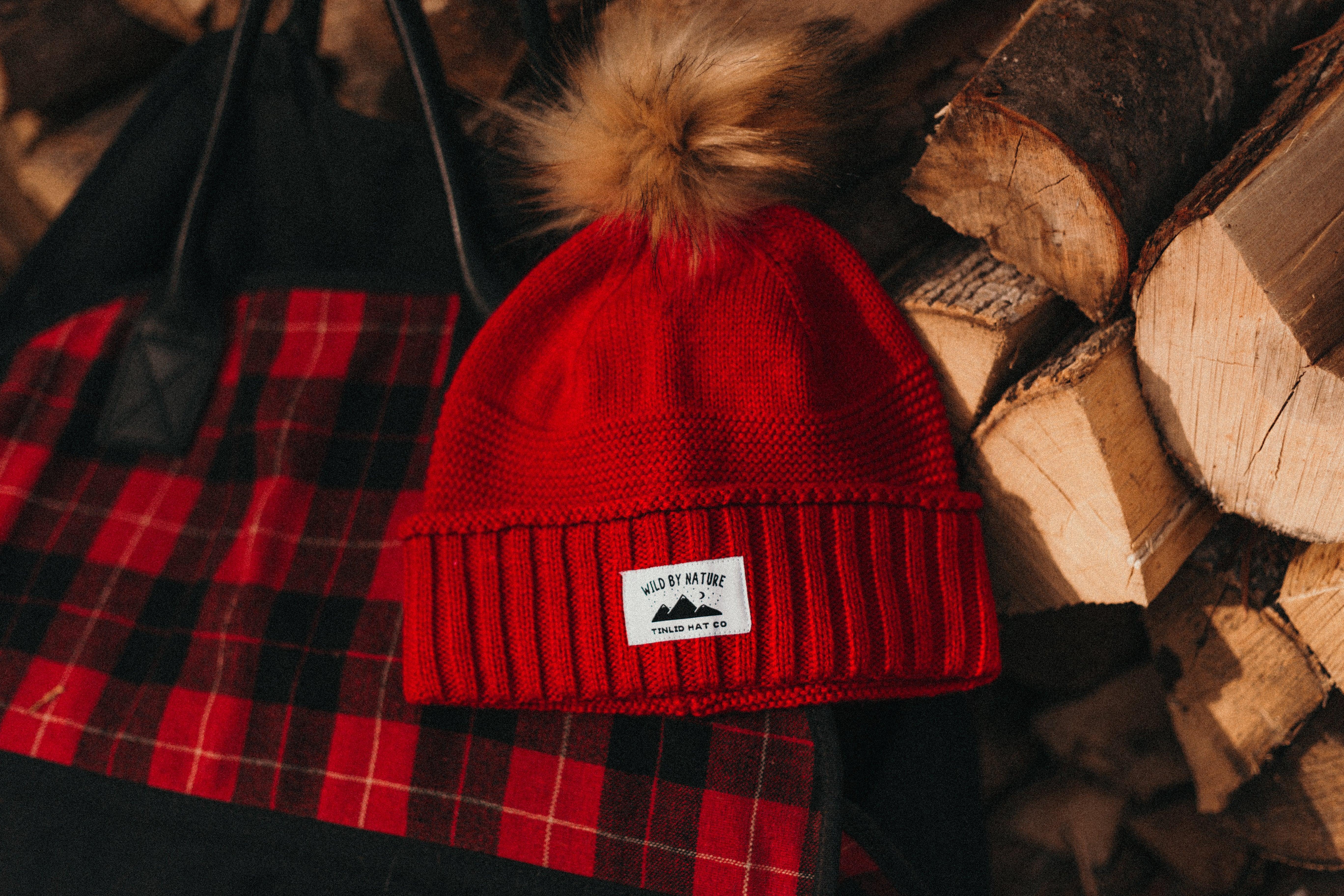 The Red Wild By Nature Beanie