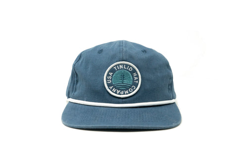 The Navy Elevation Hat