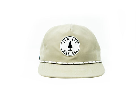 The Camo Flat Brim Hat