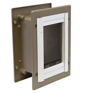 PetSafe® Alluminum Wall Entry Pet Door