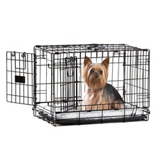 Load image into Gallery viewer, Top Paw® Double Door Dog Crate