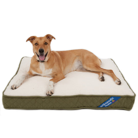 Top Paw® Orthopedic Pet Bed (COLOR VARIES)