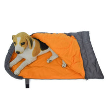 Load image into Gallery viewer, Waterproof Dog Sleeping Bag Pet Bed Kennel Mat