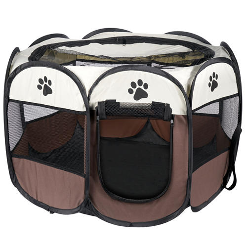 Dog Playpen for Indoor/Outdoor Use