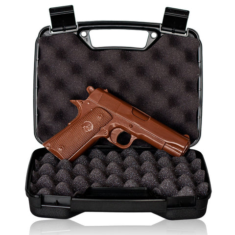 Chocolate Gun - Full-sized Solid Milk Chocolate 1911 Handgun