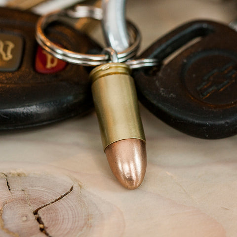 9mm Bullet Key Chains - Handmade