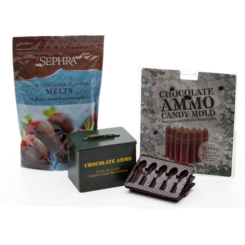 Make Your Own Chocolate Ammo Kit