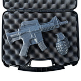 AR-15 Soap Gun & Grenade Set in Case