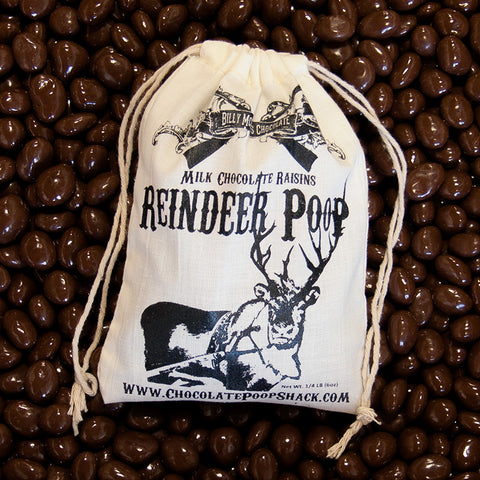 Chocolate Reindeer Poop - 5 oz Bag
