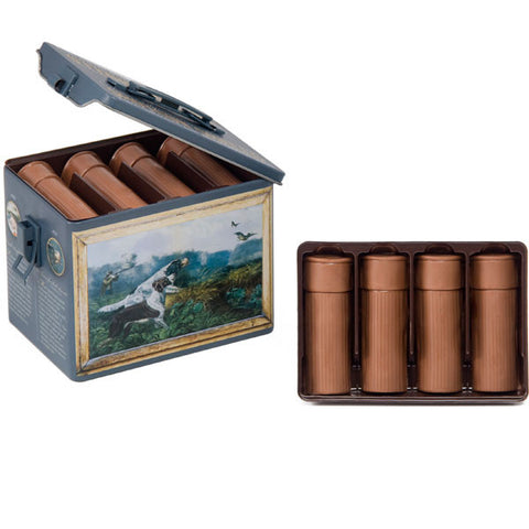 Chocolate Peanut-Butter Filled 12 Gauge Shotgun Shells