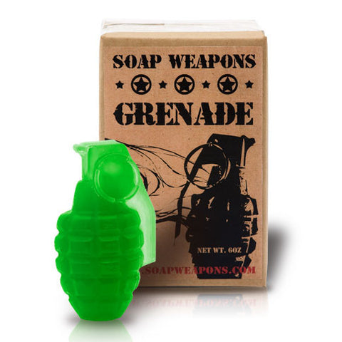 Soap Grenade : 'Green Warrior'