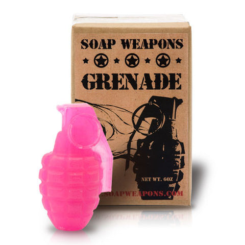 Soap Grenade : 'Hot Pink Panther'