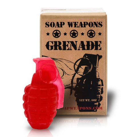 Soap Grenade : 'Seeing Red'