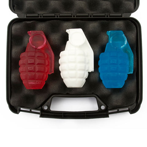 Soap Grenade Gift Set: 'The Patriot'