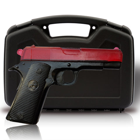 Soap Gun - Two Toned Black on Red