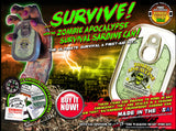 Zombie Sardine Can Survival Kit