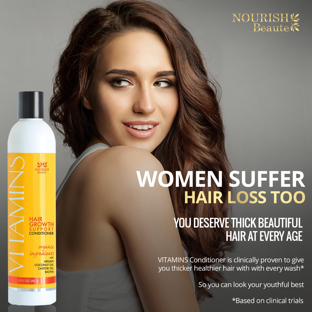 VITAMINS Hair Growth Support Conditioner Fights Hair Loss with Bicapil