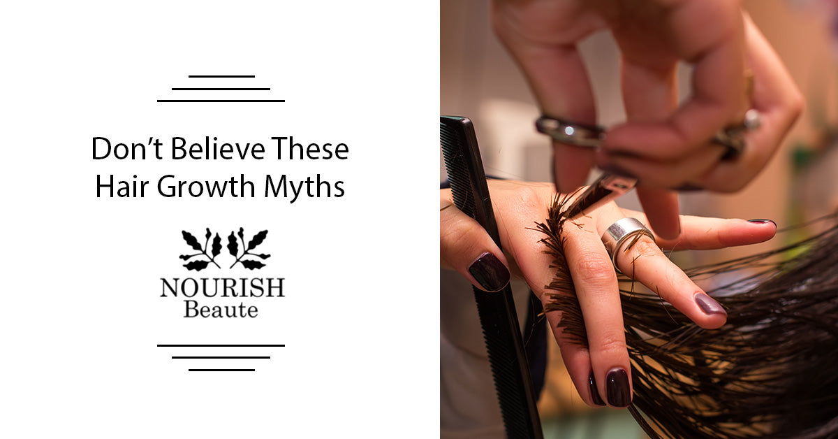 Don't Believe These Hair Growth Myths