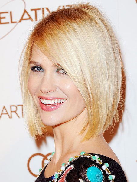 sleek bob cut