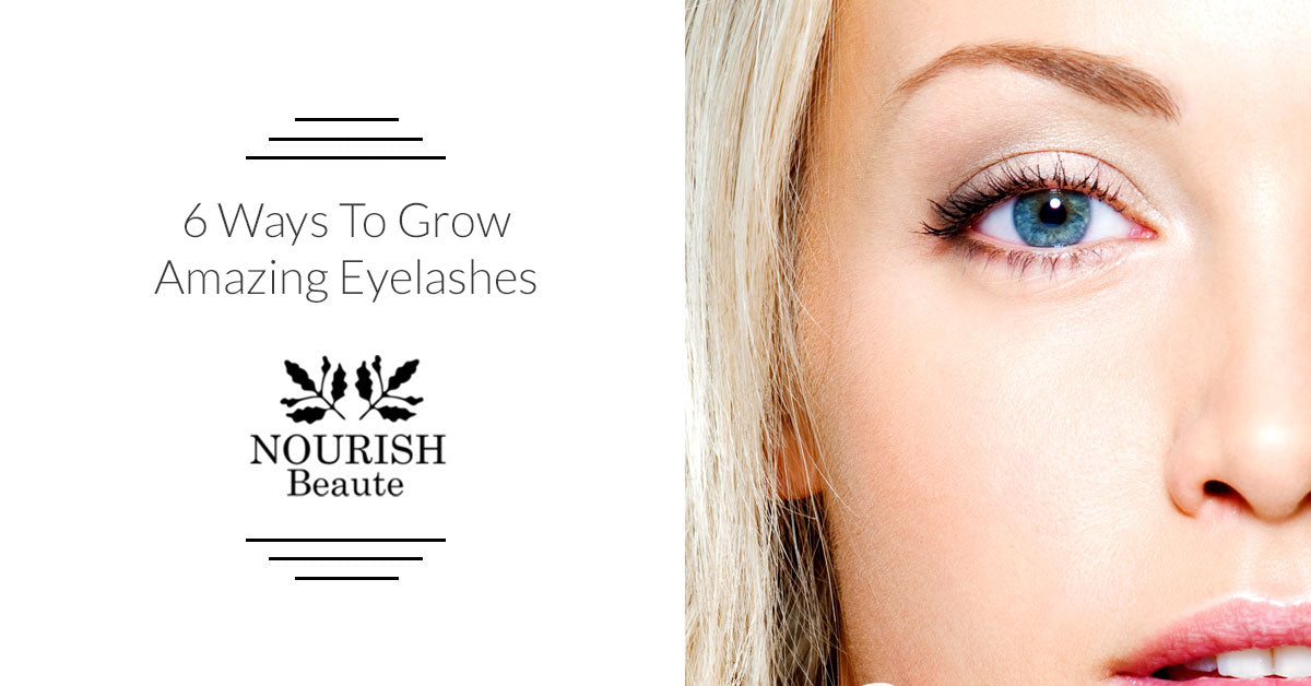 Hair Growth Products Ways To Grow Your Lashes Nourish Beaute
