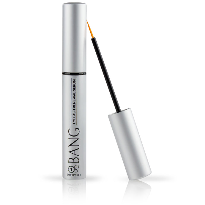 Bang Eyelash Renewal Serum with thin applicator
