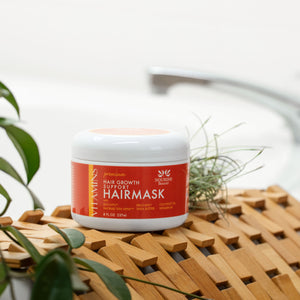 Premium Hair Growth Support Restorative Mask with Baicapil, Procapil, and Coconut oil